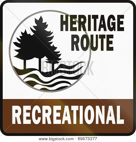 Michigan Recreational Heritage Route