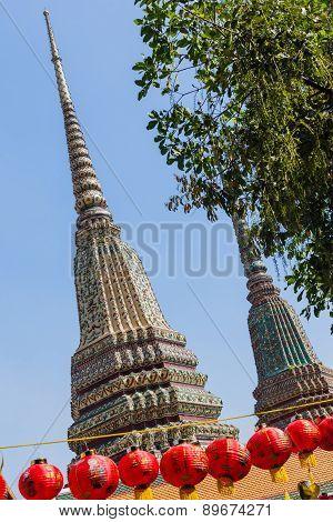 Wat Pho Prangs