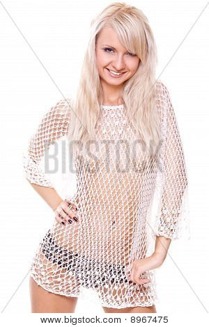 Beautiful Woman In Lingerie