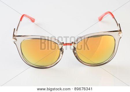 Sunglasses  white background