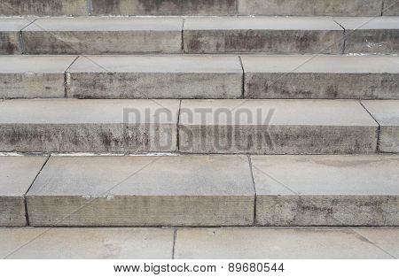 The mortar staircase pattern for background for decorate