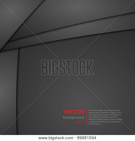 Abstract cover background, easy editable