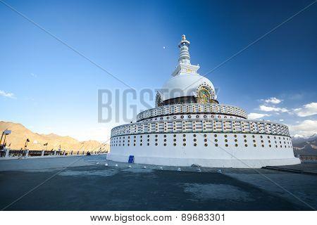 Shanti Stupa, Leh, Ladakh, India