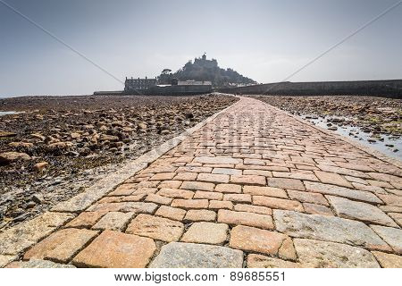 St Michaels mount in cornwall England UK