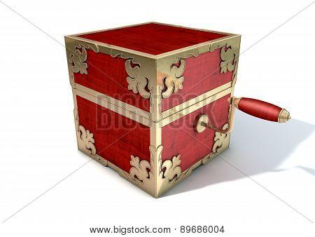 Close Jack-in-the-box Antique