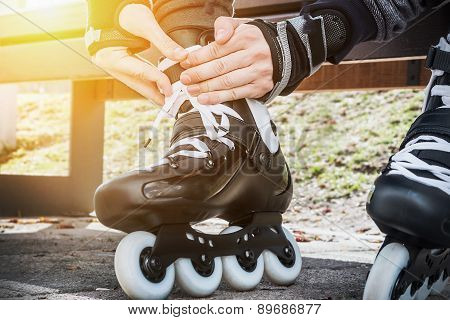 Dressing Roller Skates For Skating