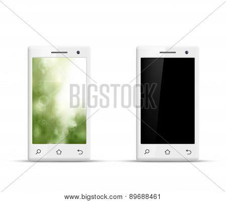 Vector Realistic Smartphone
