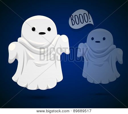 Funny ghost.