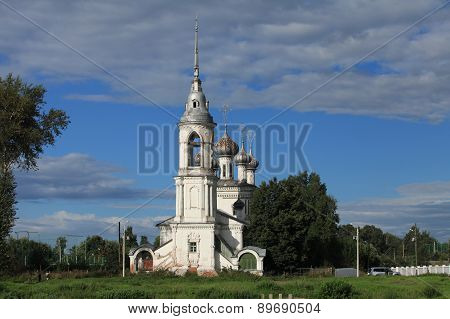 old church in Vologda