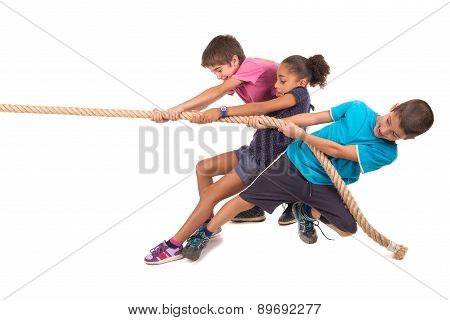 Rope Pulling