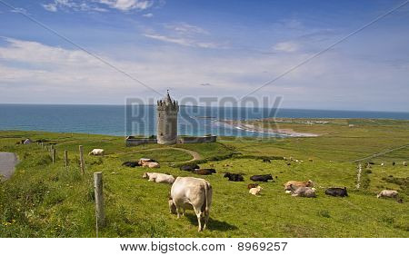 Ancient Irish Castle By Sescape,west Ireland