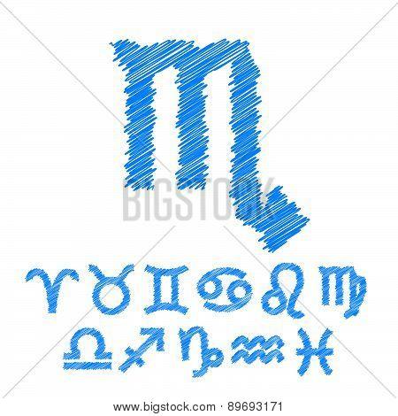 Zodiac Symbol Icons