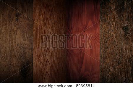 set of four wood textures.
