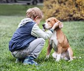 picture of baby dog  - Two best friends  - JPG