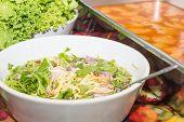 pic of catfish  - Green mango and vegetable for Crispy catfish salad - JPG
