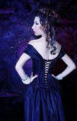 foto of corset  - Victorian lady - JPG