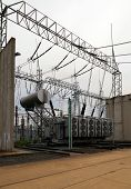 picture of substation  - Part of high - JPG