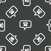 picture of intercourse  - Chat bubble with the phone symbol inside - JPG