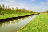 picture of turin  - venaria garden in the city of turin - JPG