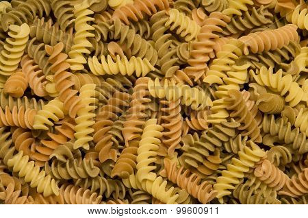Multi-colored Fusilli