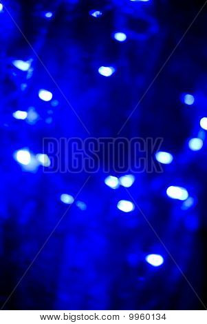 Glittering Blue Lights