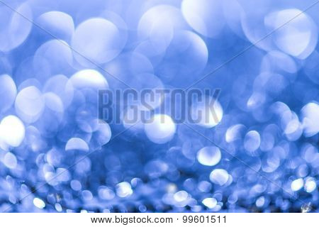 Blue Abstract Background bokeh