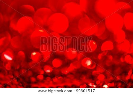 Red Abstract Background bokeh