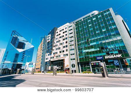 Modern Architecture In Estonian Capital, Tallinn, Estonia