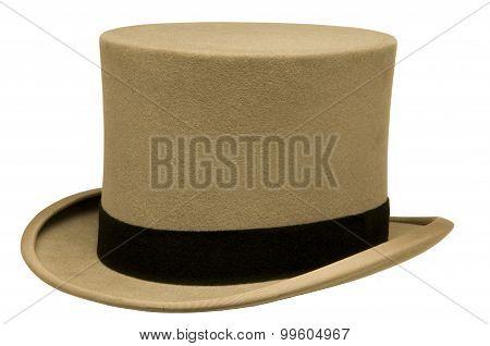 Vintage Gray Top Hat