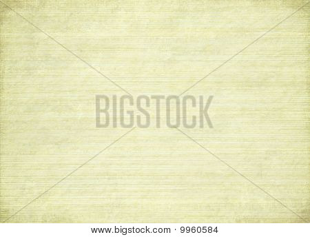 Stained Ribbed Cream Paper With Burned Edges
