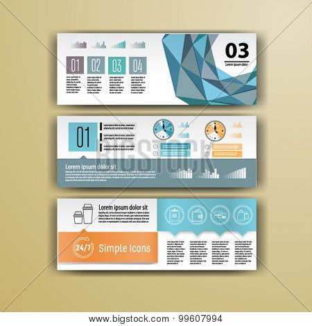 Geometry brochure template design for corporate identity with  statistics and infographics. Cover layout for your business.