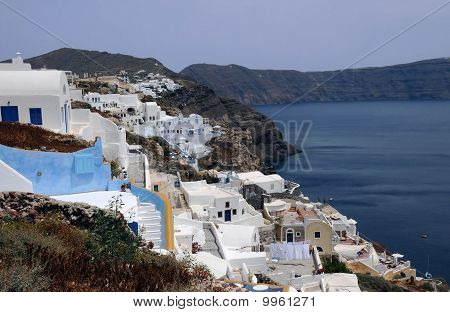 View Of Oia Village