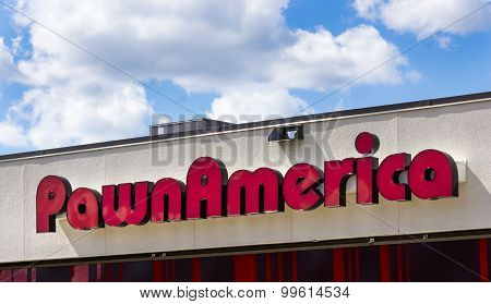 Pawnamerica Exterior And Sign