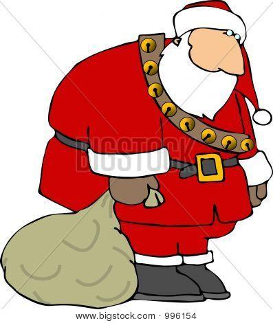 Santa triste