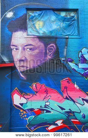 Street art Eric Lapointe
