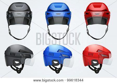 Classic Hockey Helmets