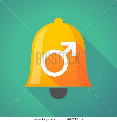 Bell Icon With A Male Sign