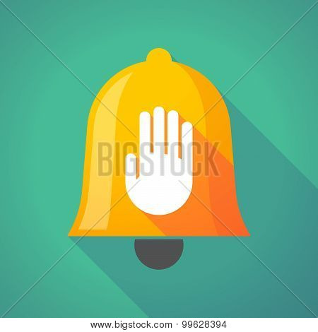 Bell Icon With A Hand