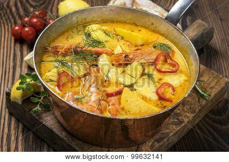 fish stew Moqueca de Peixe