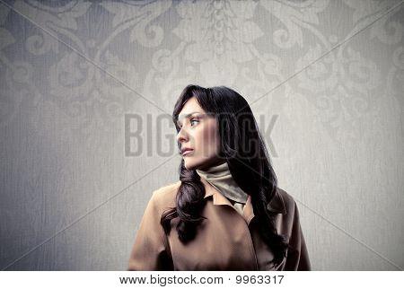 reiche Frau