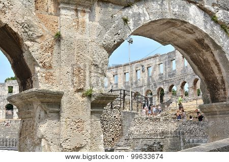 the Arena of Pula