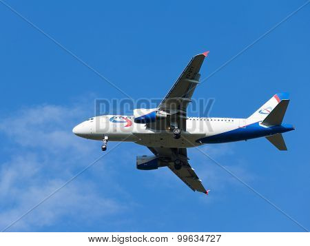 Passenger Airbus A319-112 Ural Airlines