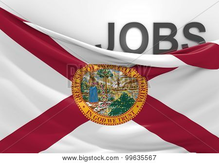 Florida jobs and employment opportunities concept