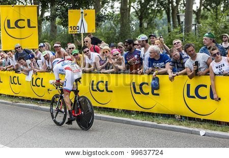 The Cyclist Jeremy Roy - Tour De France 2015