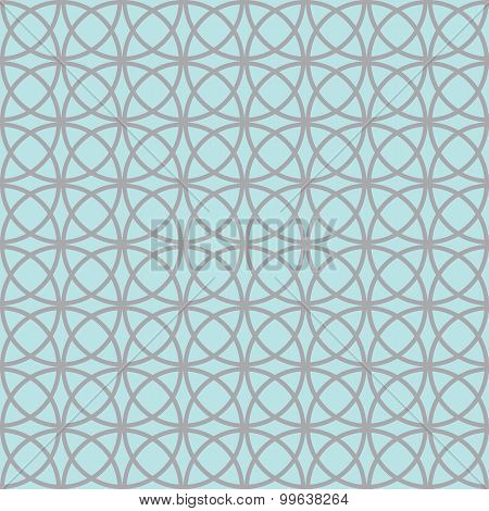 Diamonds And Circles Pattern Petals