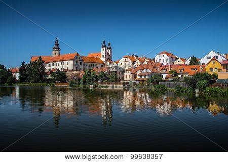 Old town city Telc