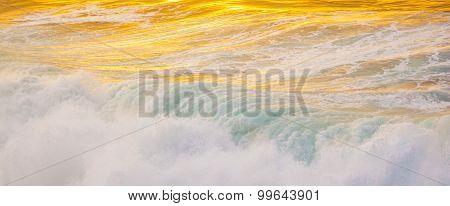 Beautiful Waves At The Beach