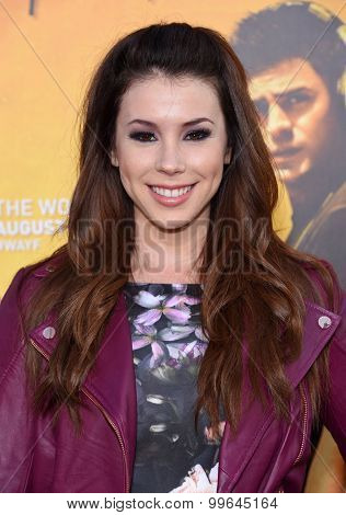 LOS ANGELES - AUG 20:  Jillian Rose Reed arrives to the