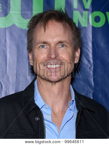 LOS ANGELES - AUG 10:  Phil Keoghan arrives to the Summer 2015 TCA's - CBS, The CW & Showtime  on August 10, 2015 in West Hollywood, CA