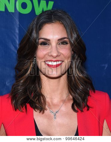 LOS ANGELES - AUG 10:  Daniela Ruah arrives to the Summer 2015 TCA's - CBS, The CW & Showtime  on August 10, 2015 in West Hollywood, CA